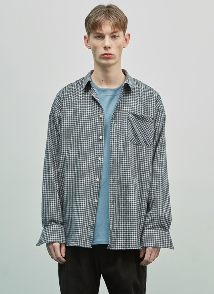 スタンダードチェックシャツ(グリーン)