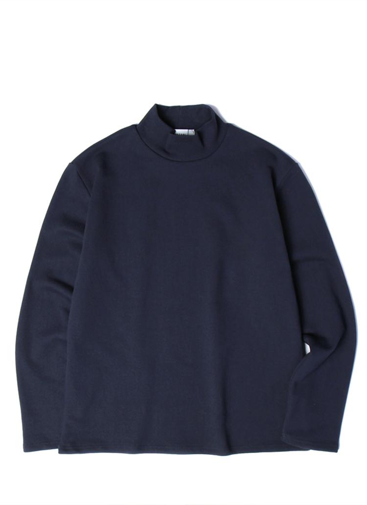19SSモックネックTシャツ(ネイビー)