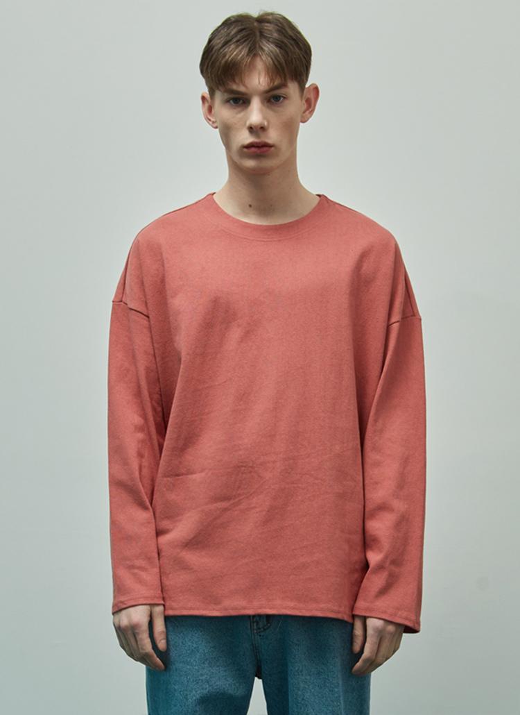 19SSオーバーフィットTシャツ(ローズピンク)