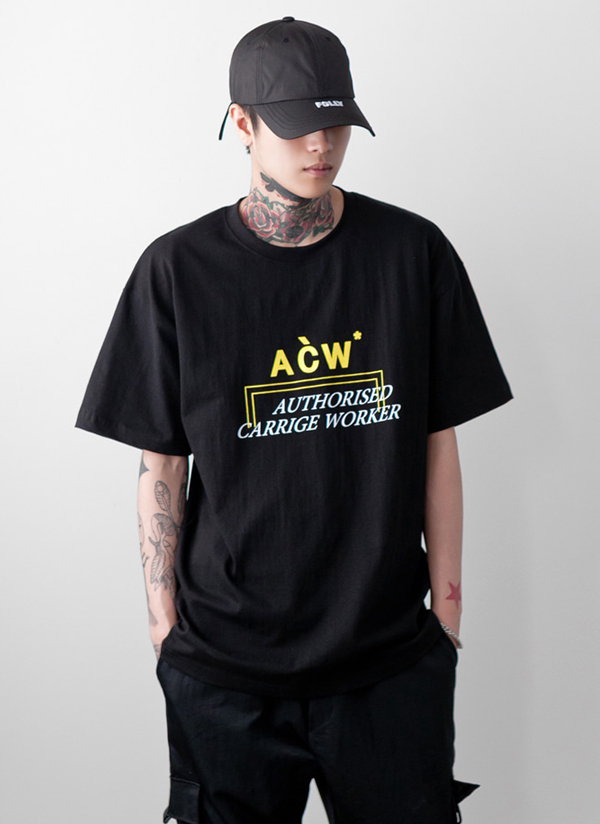 ACWショートスリーブオーバーTシャツ