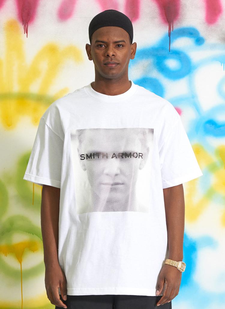 イントロプリントTシャツ(ホワイト)