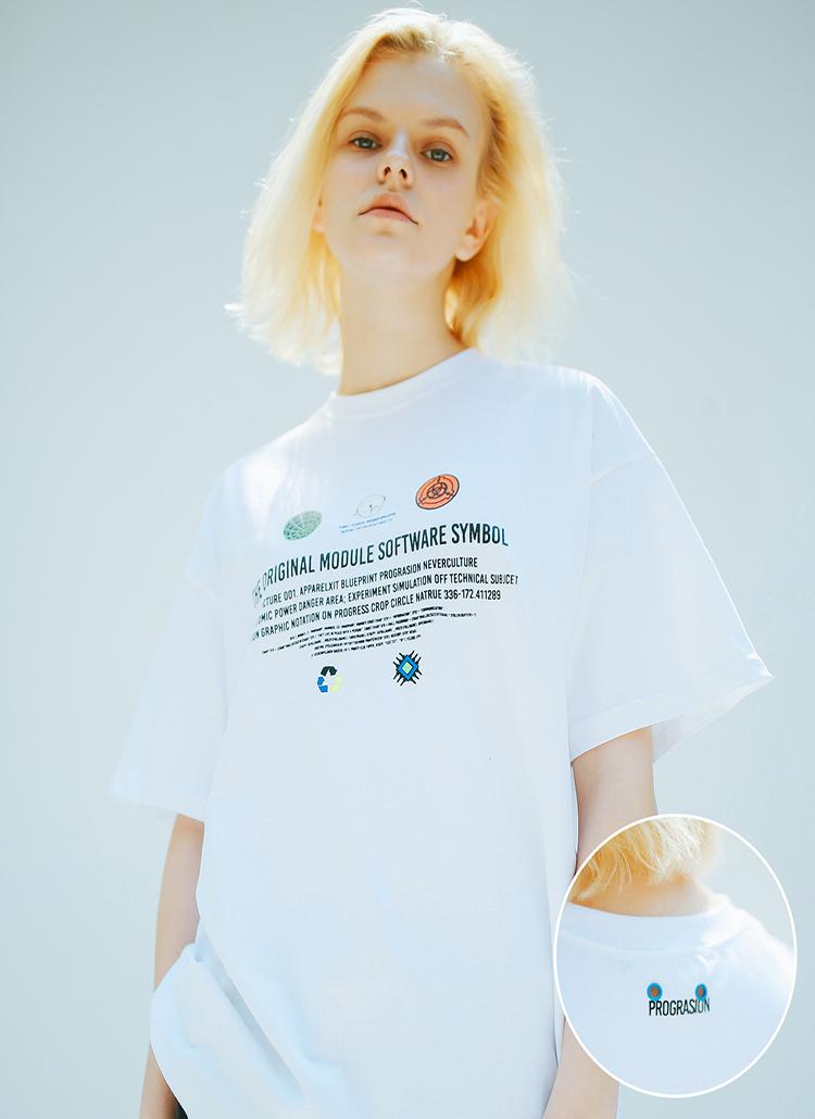 ミレニアムツールTシャツ(ホワイト)
