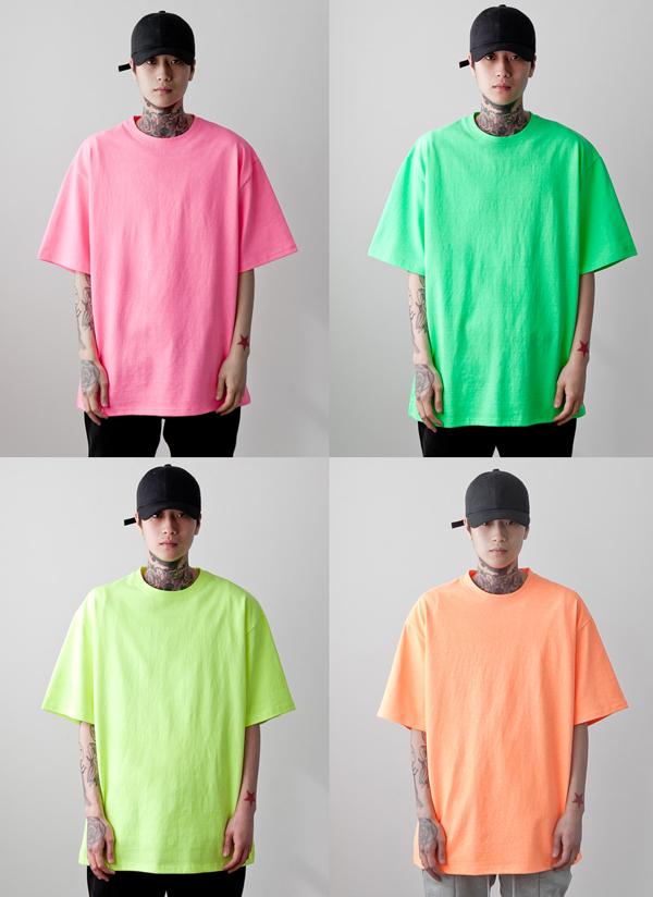 ネオンカラーTシャツ