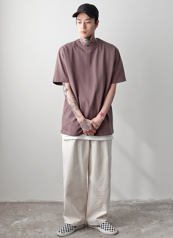 ボクシーフィットTシャツ