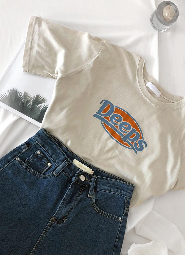DeepsプリントTシャツ・全3色