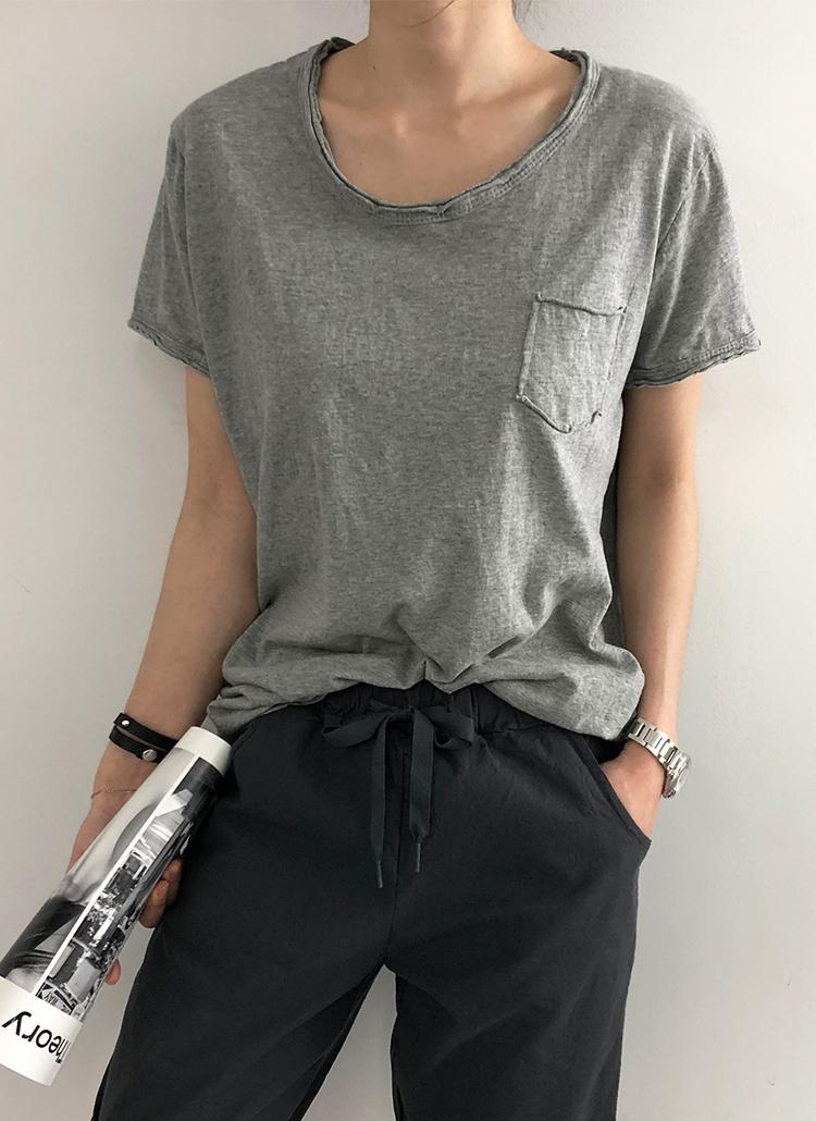 ウォッシングショートスリーブTシャツ