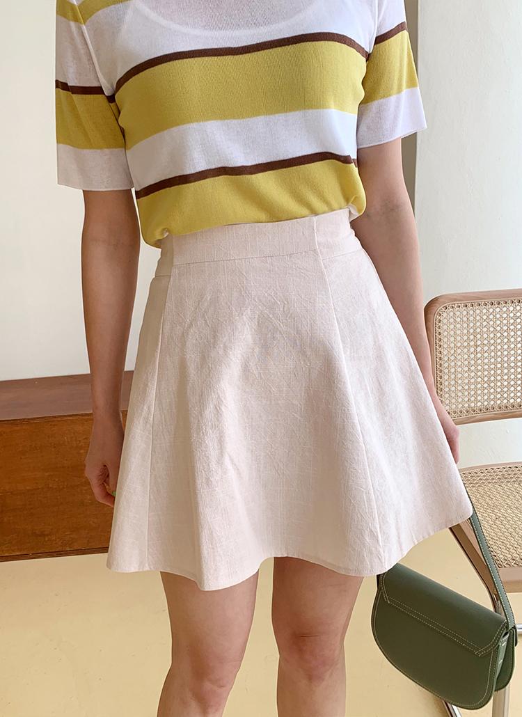 フレアミニスカート・全4色