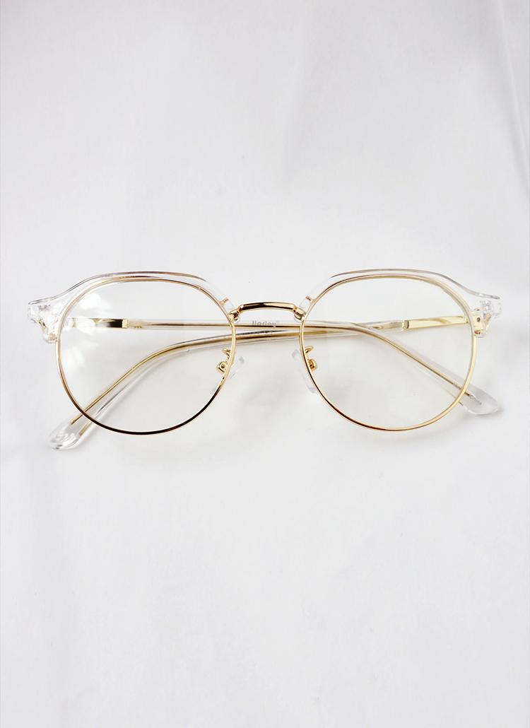 *UV400*クリアフレーム眼鏡