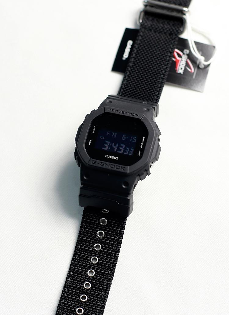 *CASIO*G-SHOCKナイロンベルト腕時計