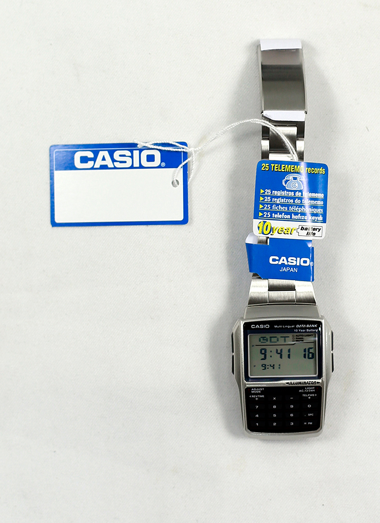 *CASIO*データバンク腕時計