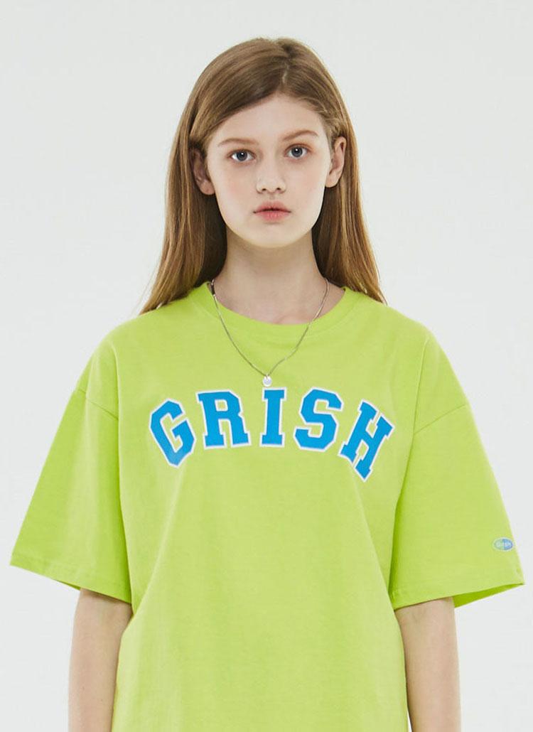 GrishビッグロゴTシャツ(ネオン)