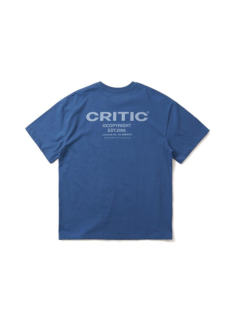 バックサイドロゴTシャツ(ダークブルー)