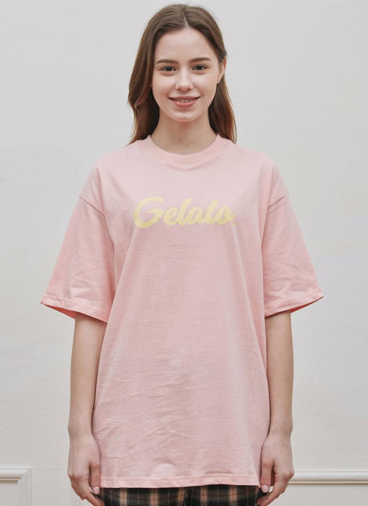 Gelato.半袖Tシャツ(ピンク)