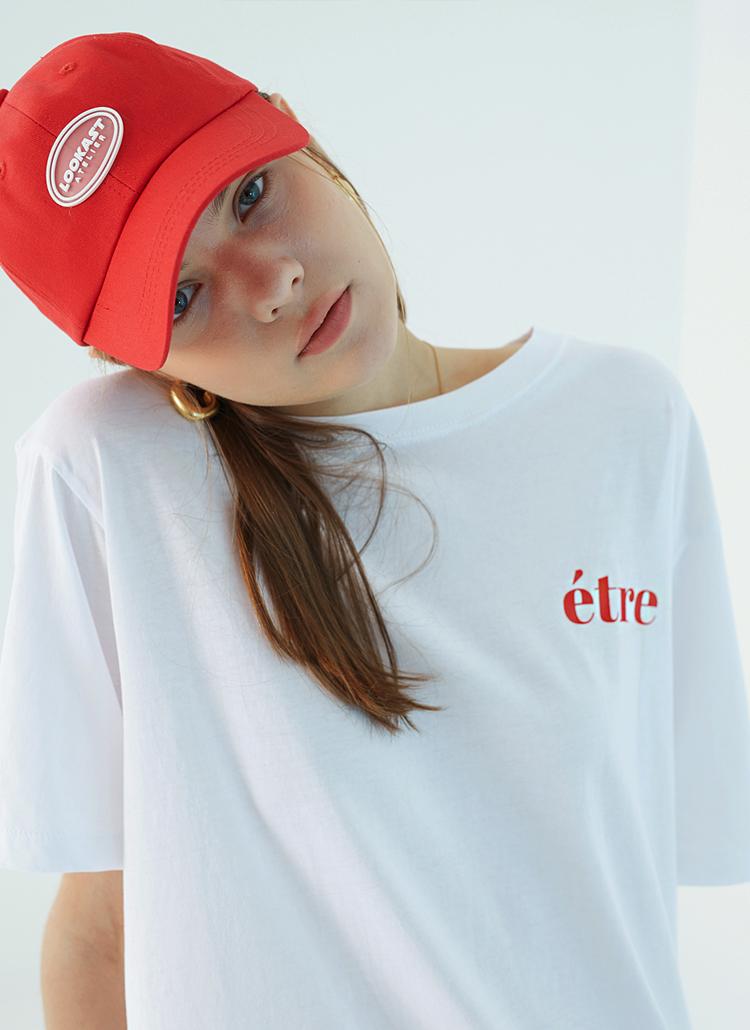 êtreスモールロゴTシャツ(ホワイト)