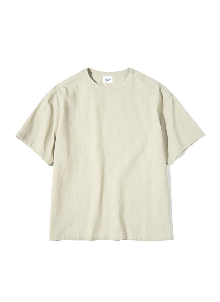 ジッパーディテールTシャツ(サハラ)