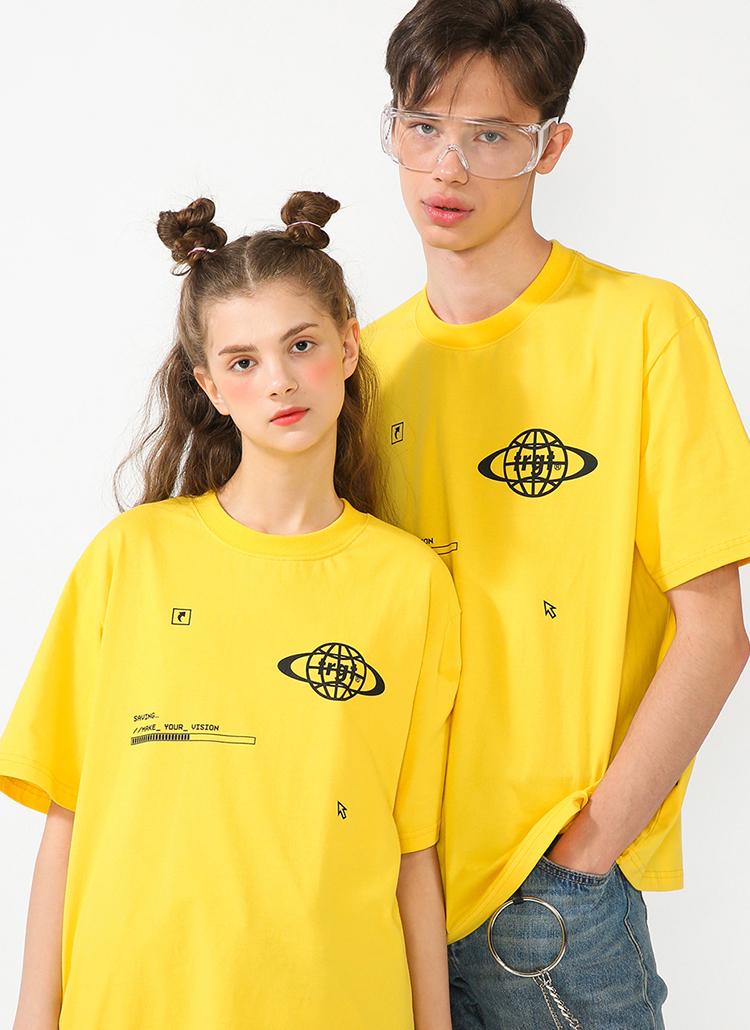 サービングTシャツ(ライトイエロー)