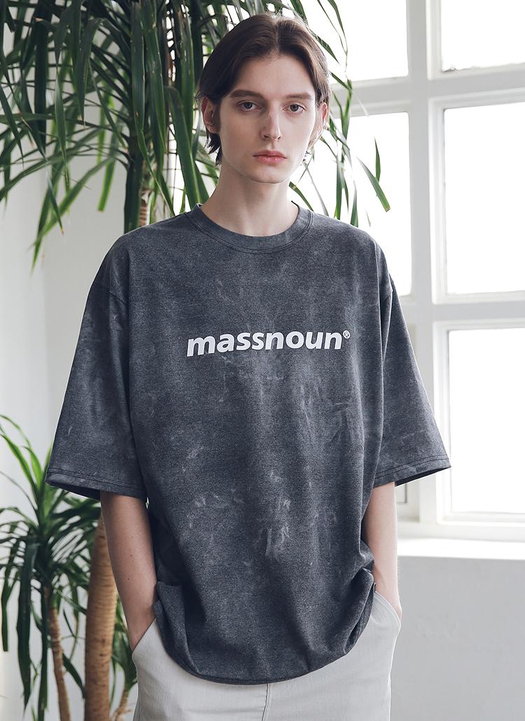 タイダイオーバーサイズTシャツ(ブラック)