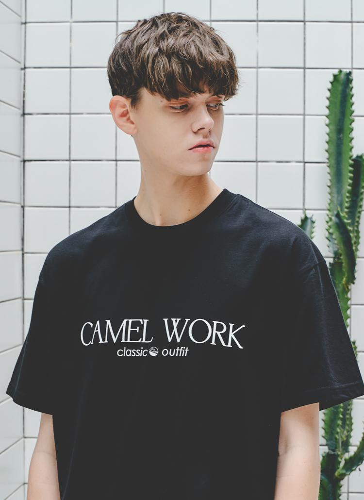 クラシックロゴTシャツ(ブラック)