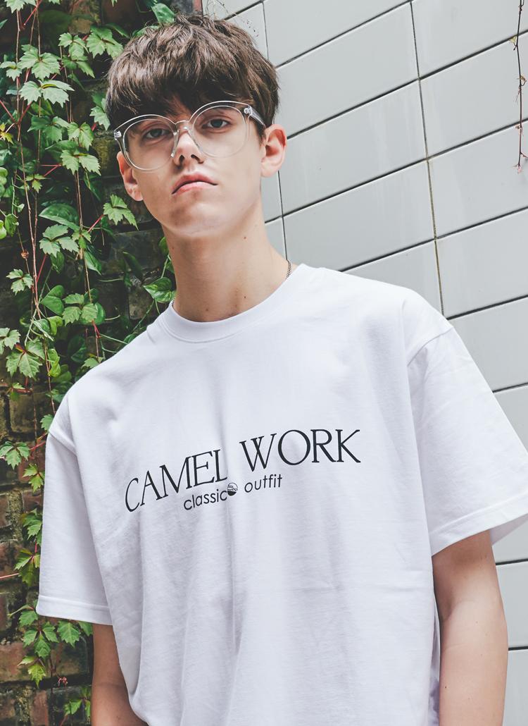 クラシックロゴTシャツ(ホワイト)