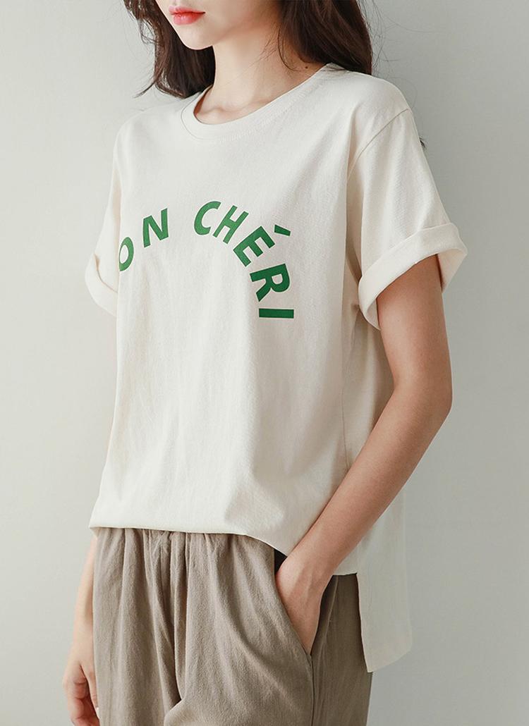 MON CHERI半袖Tシャツ