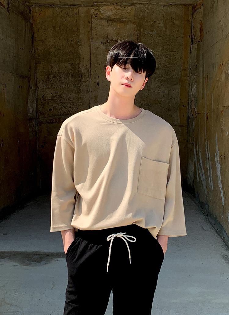 スクエアポケット半袖Tシャツ