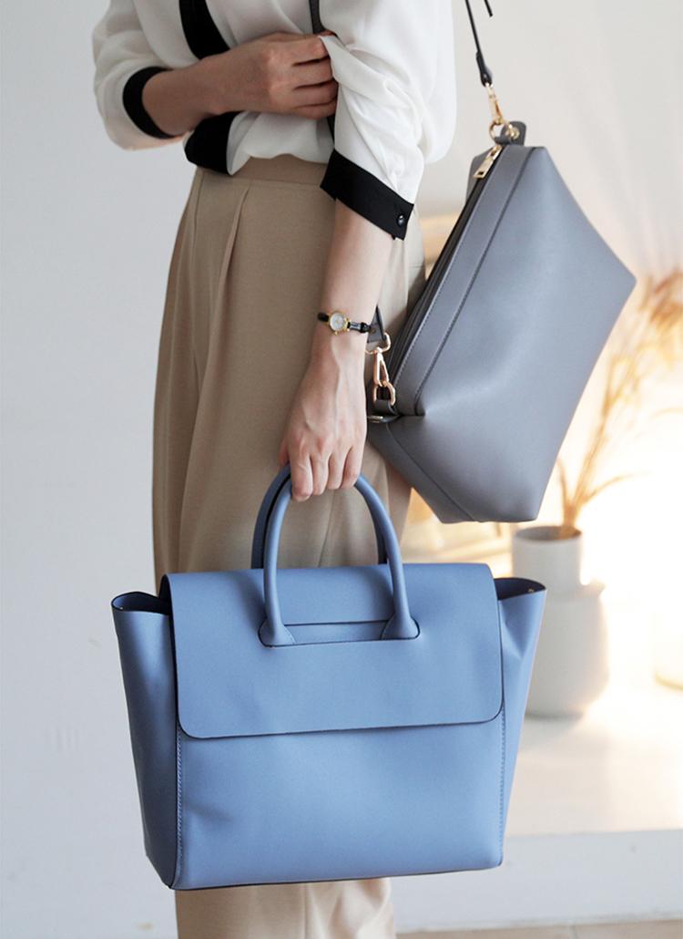 3WAYスカーフ&ポーチSETバッグ・全5色