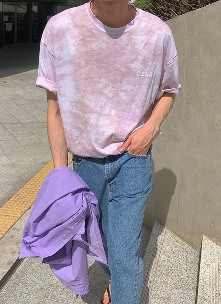 CELEBタイダイ半袖Tシャツ