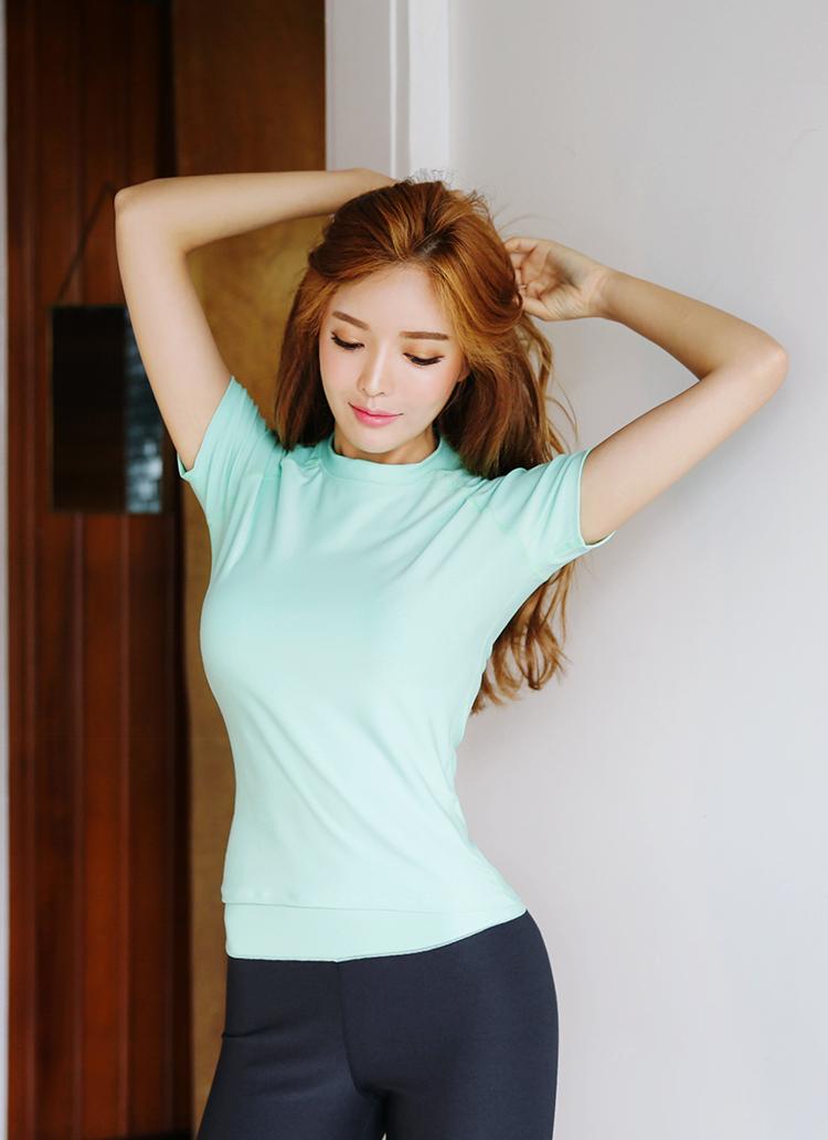 ラグランスリーブフィットネスTシャツ・全3色
