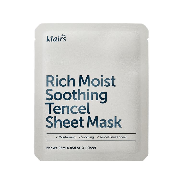 [クレアス]リッチモイストスージングテンセルシートマスク