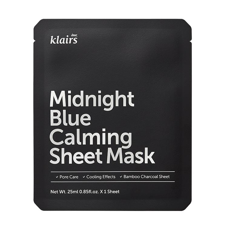 [クレアス]ミッドナイトブルーカーミングシートマスク
