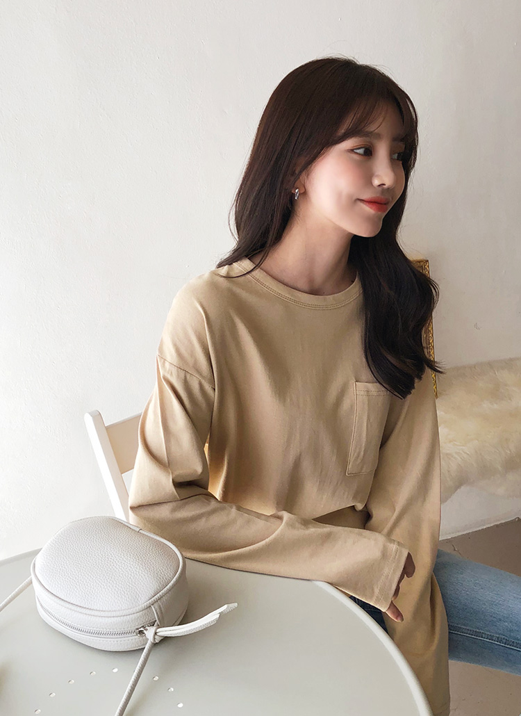 ワンポケットTシャツ・全7色