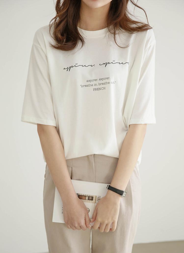 FrenchハーフスリーブTシャツ