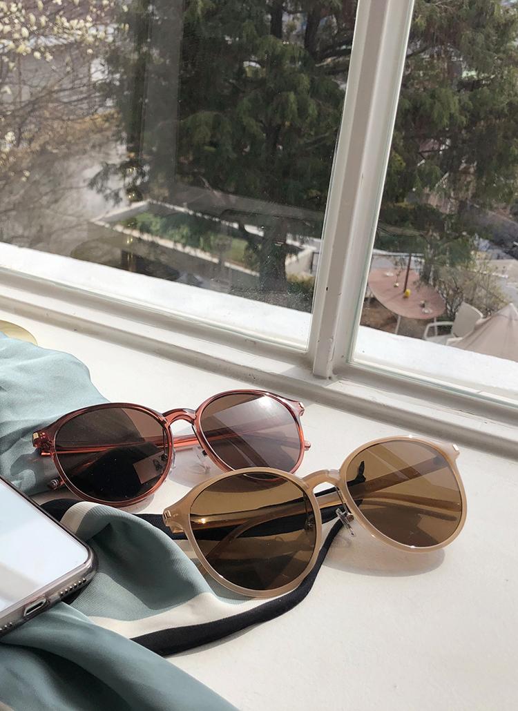 UV400カラーフレームサングラス・全5色