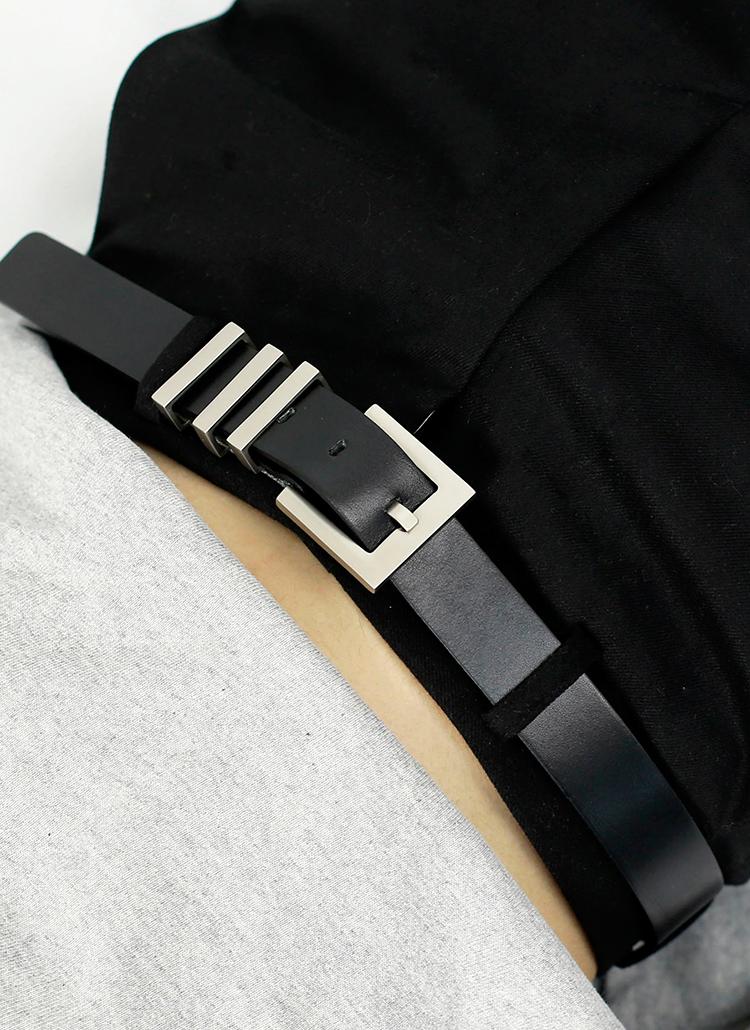 トリプルライン牛革ベルト