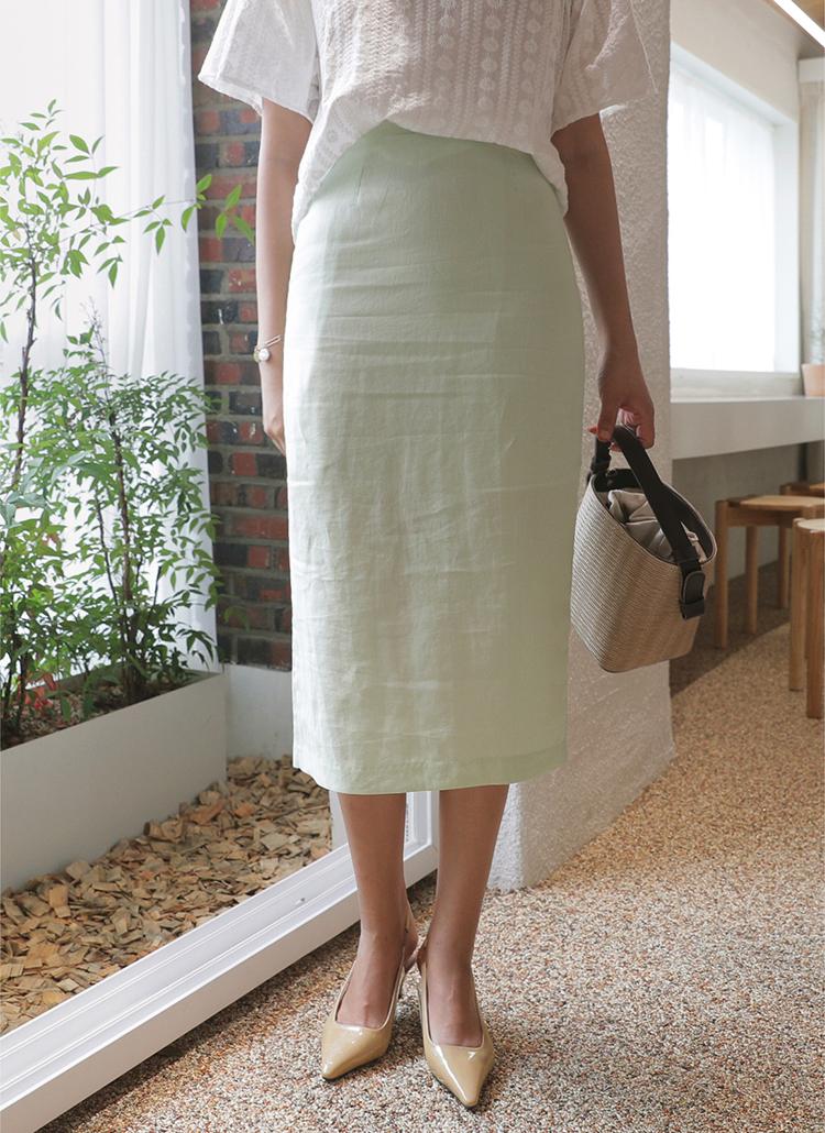 パステルHラインスカート・全4色