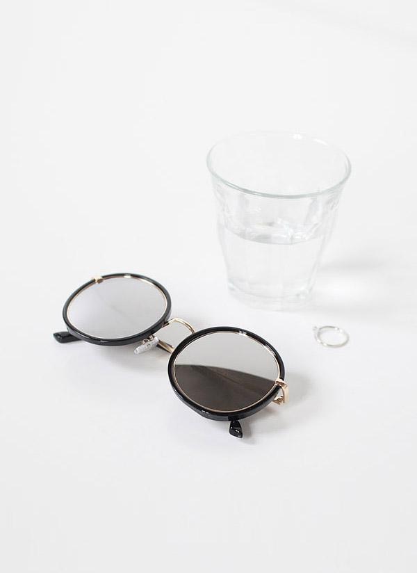 ゴールドリングサングラス