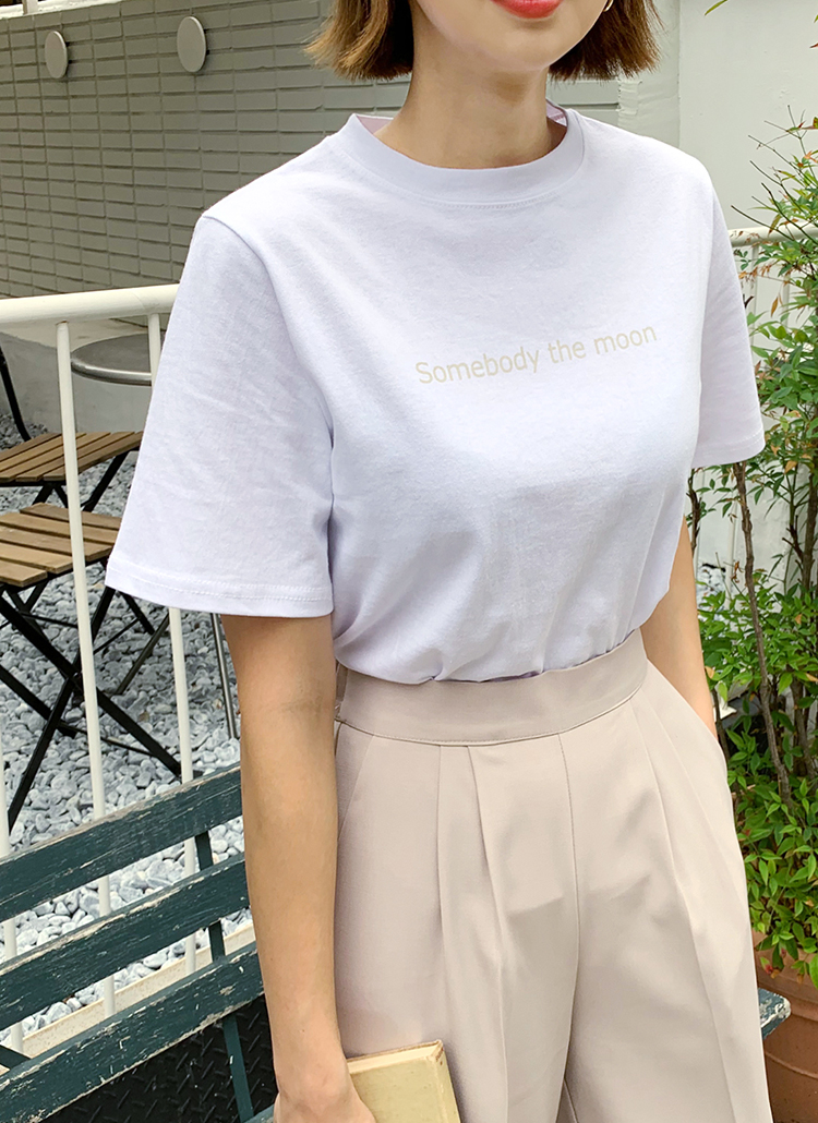 4TYPEレタリングTシャツ・全12色
