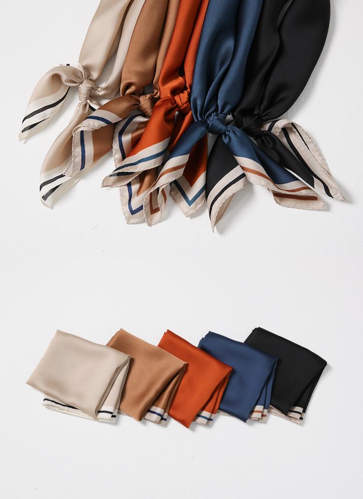 ライン配色スカーフ
