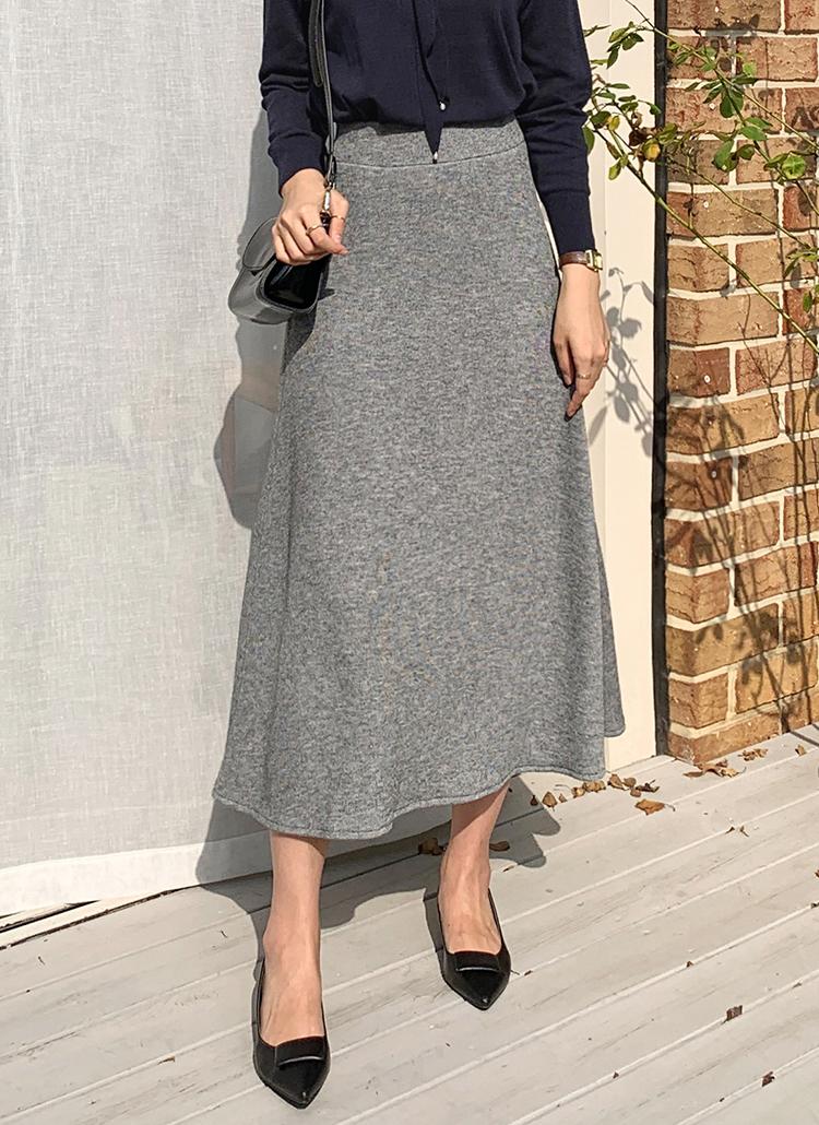 フレアニットスカート・全5色