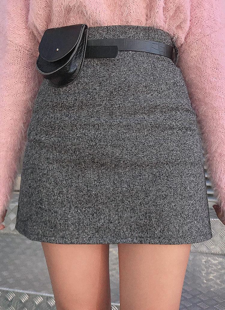 ベルトミニバッグSETスカート