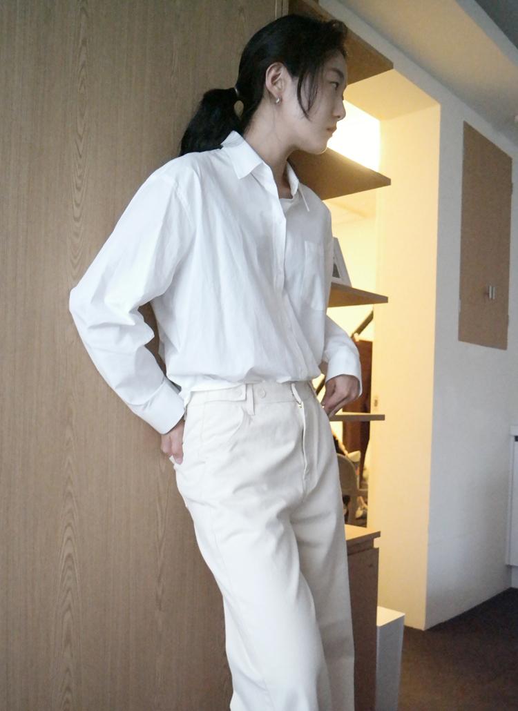 スタンダードフィットシャツ