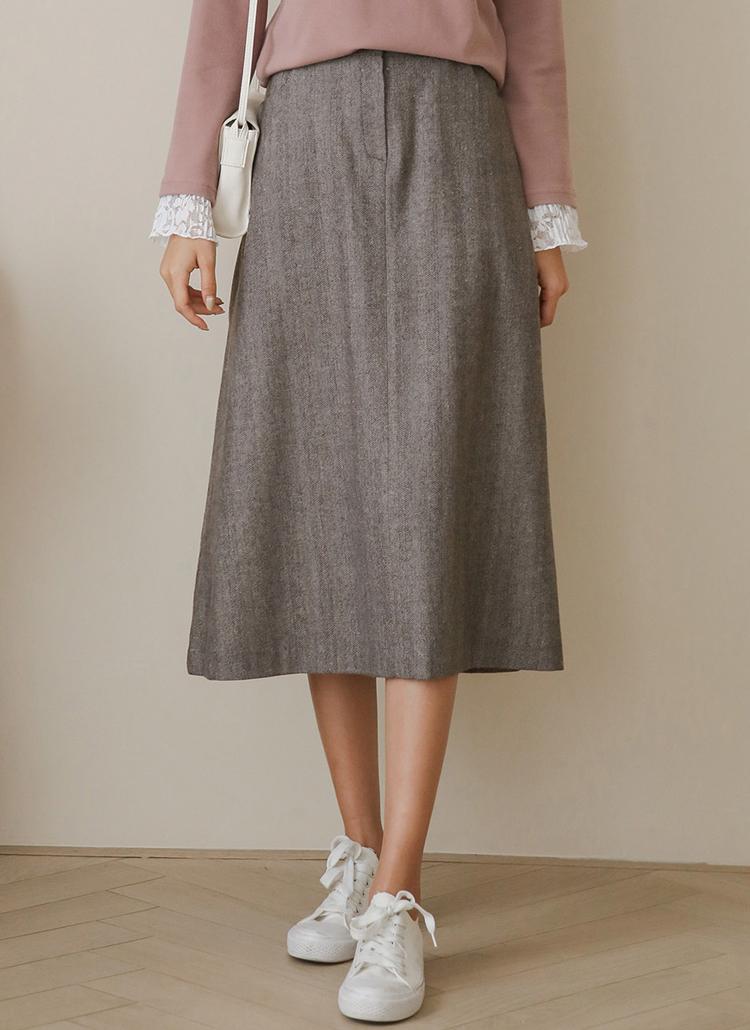 ヘリンボーンスカート