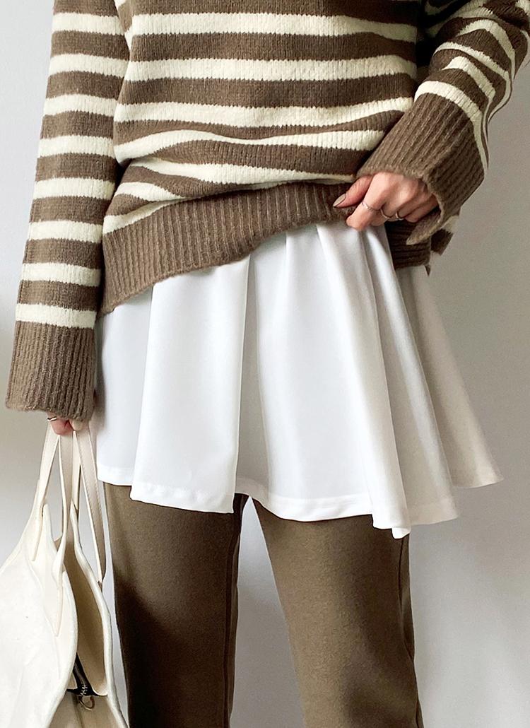 レイヤードスカート・全1色