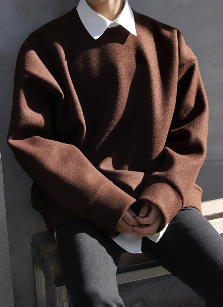 ウールミックススウェットシャツ