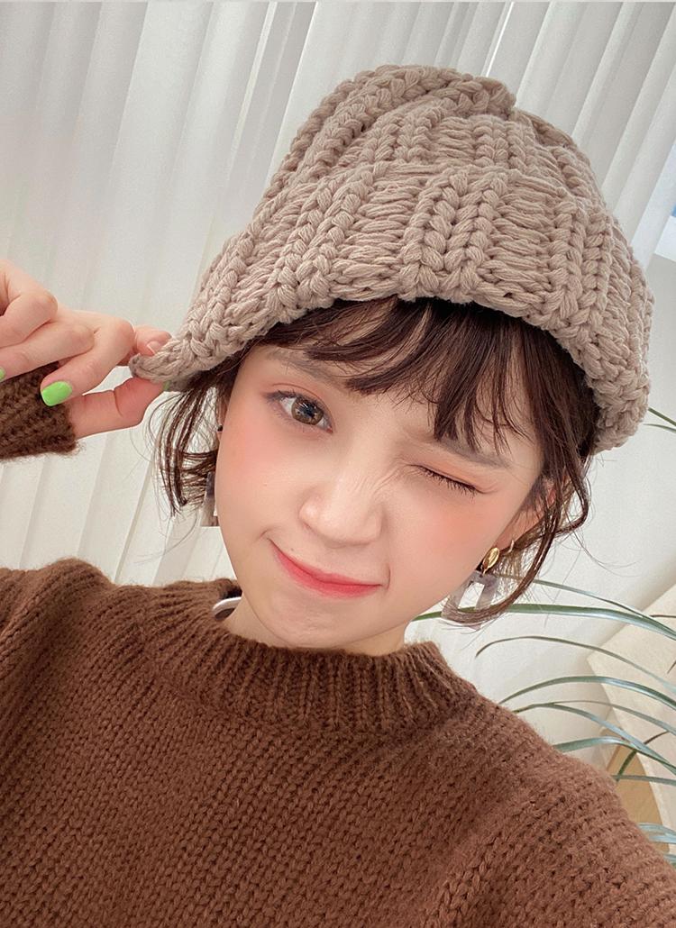 アクリルニット帽・全6色