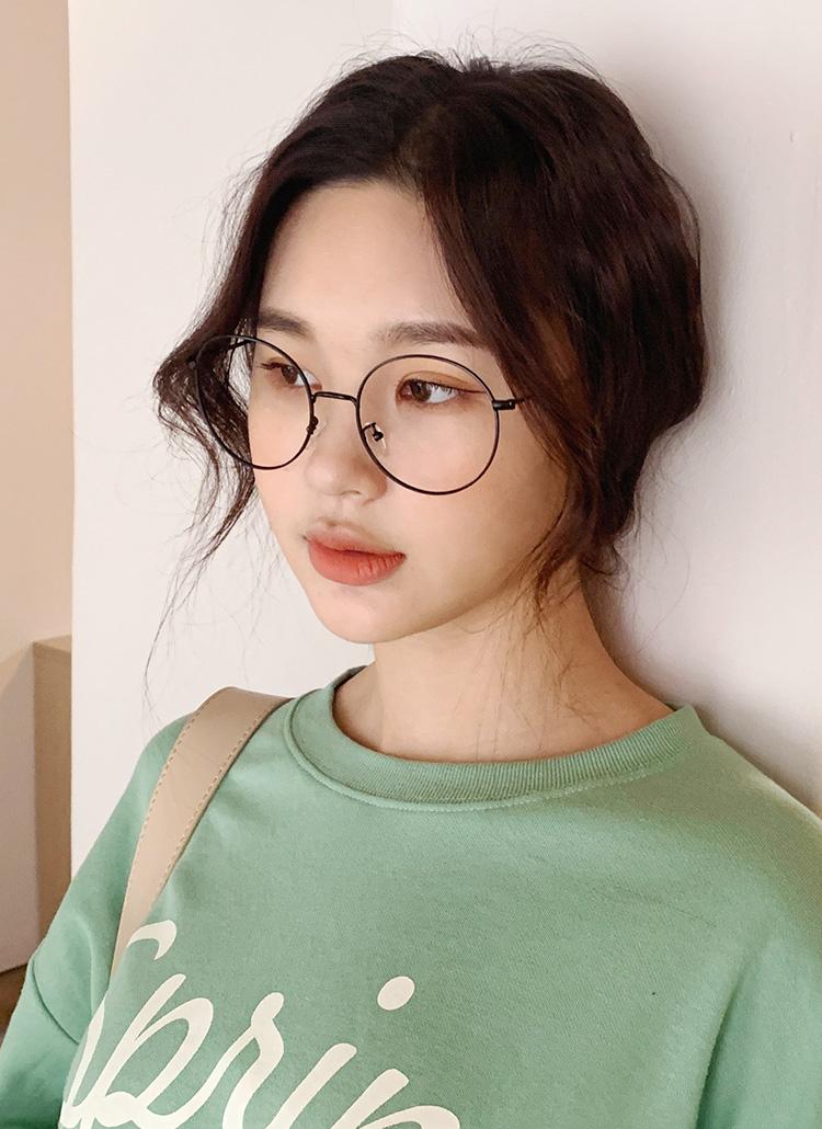 ラウンドメガネ・全3色