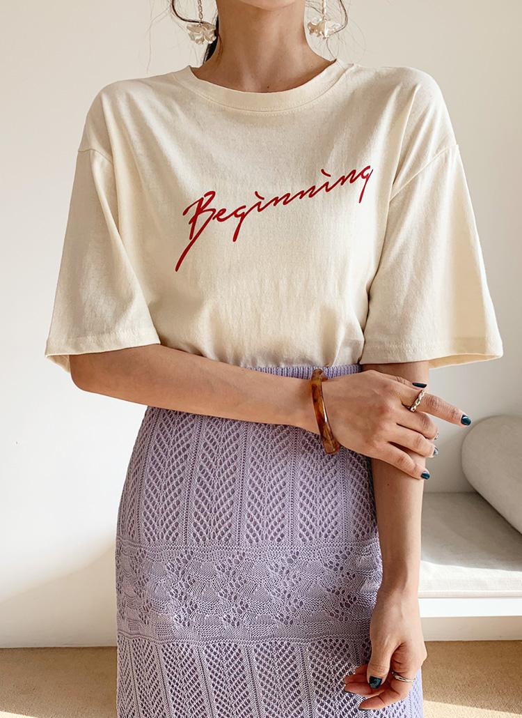 Beginning半袖Tシャツ・全3色