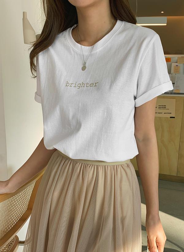 Bright半袖Tシャツ