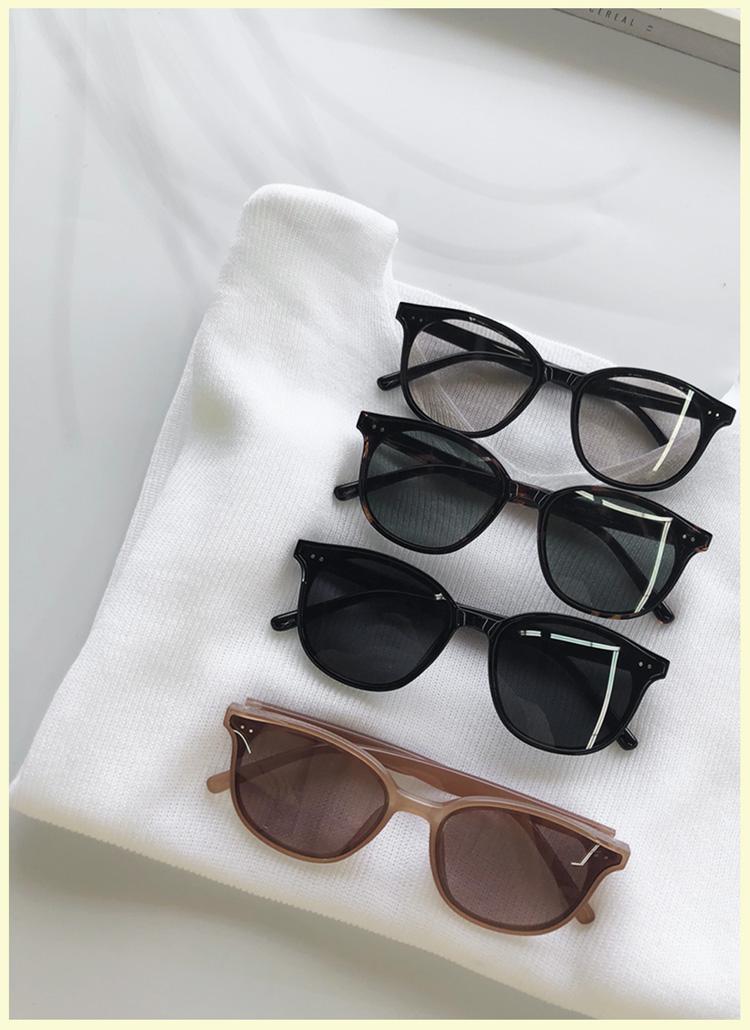 UV400ダークカラーサングラス・全4色