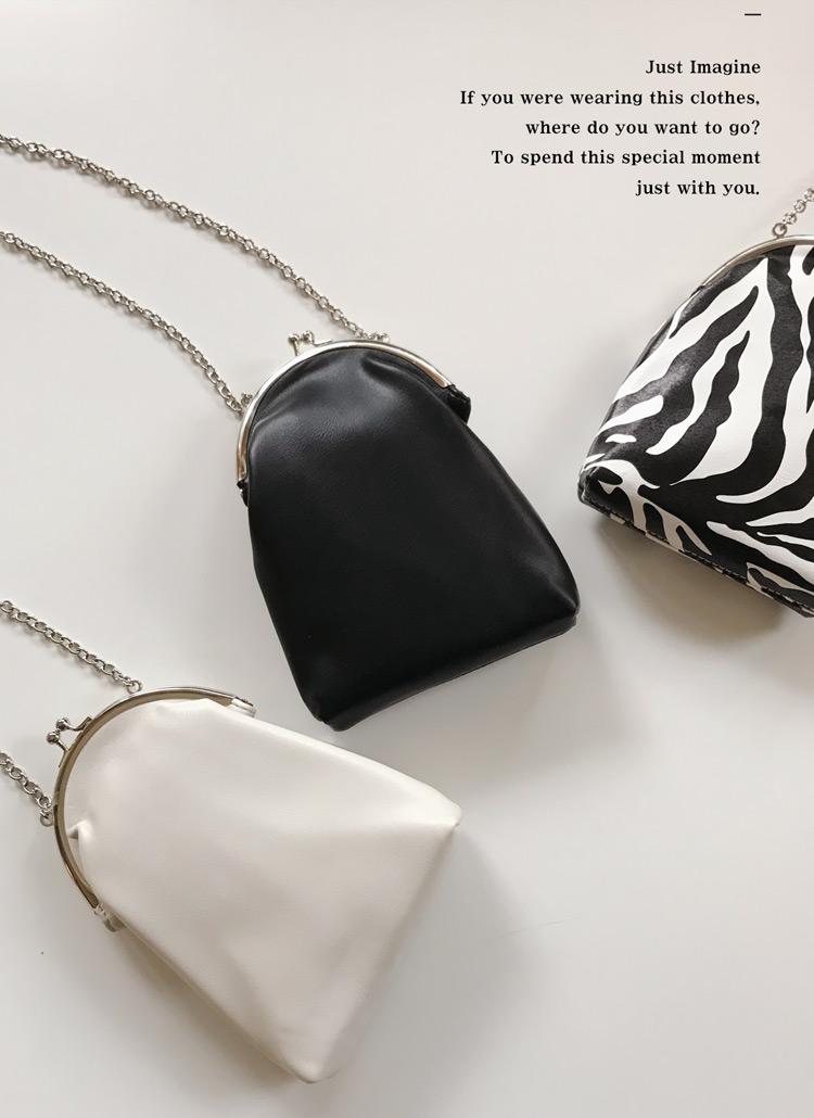2TYPEがま口チェーンバッグ・全3色